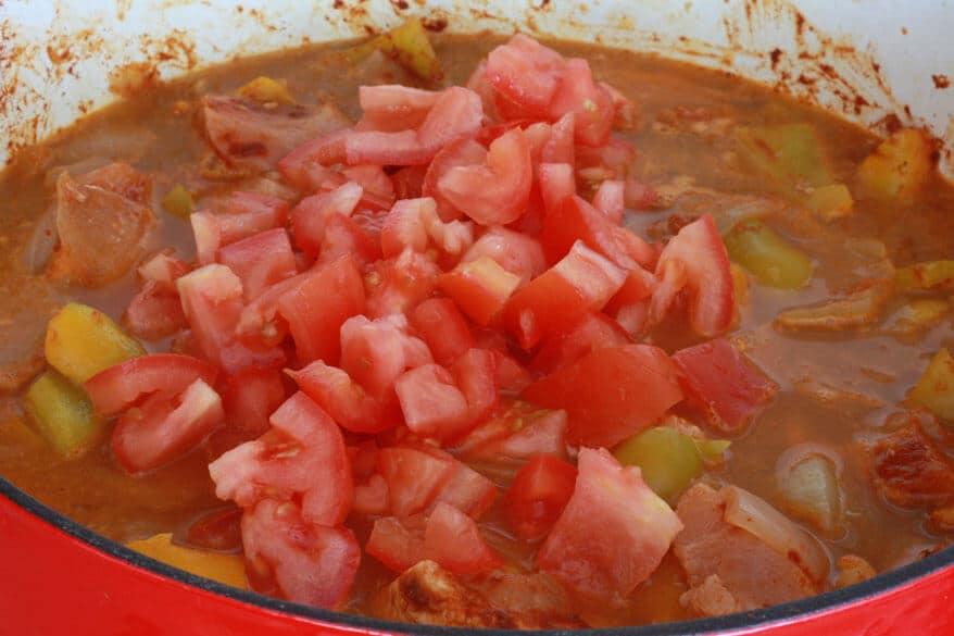 Chicken Goulash prep 10