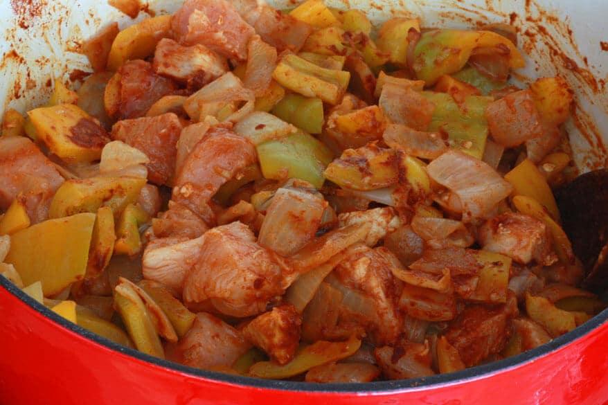 Chicken Goulash prep 11