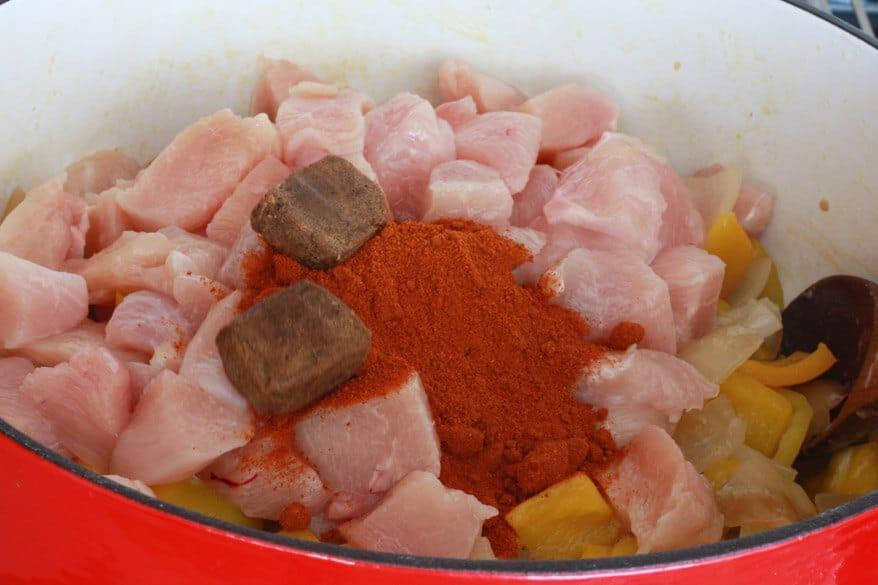 Chicken Goulash prep 8