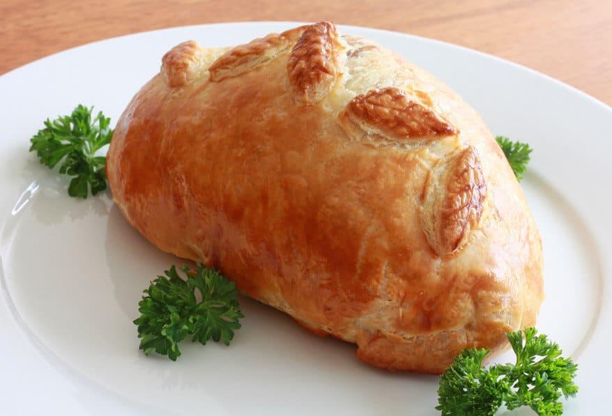 Chicken Wellington prep 28