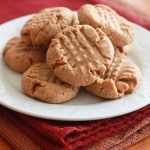 Mega Healthy Peanut Butter Cookies