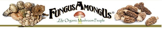 FungusAmongUs mushrooms organic wild