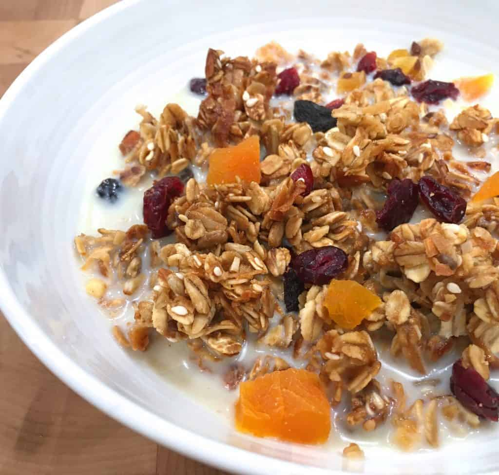 Healthy Homemade Granola Recipe - The