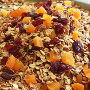 Healthy Homemade Granola (with some help from my kids :)