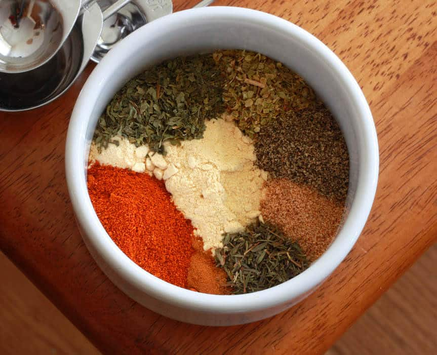 Homemade Greek Seasoning Blend