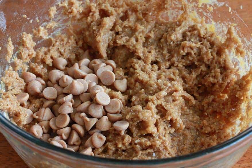 Mega Healthy Peanut Butter Cookies prep 4