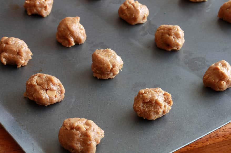 Mega Healthy Peanut Butter Cookies prep 5