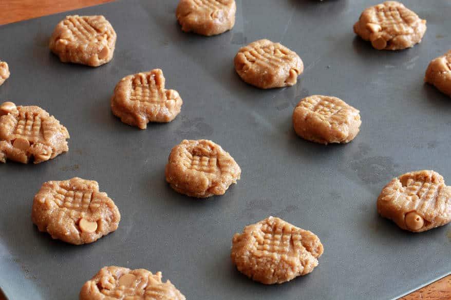 Mega Healthy Peanut Butter Cookies prep 6