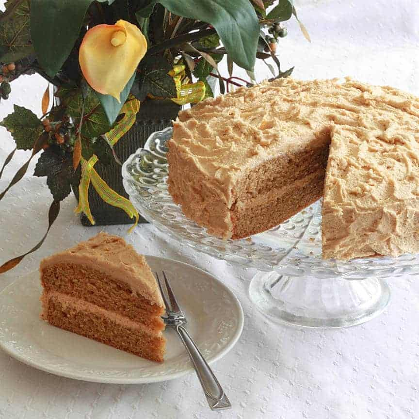 Killer Peanut Butter Cake Recipe The Daring Gourmet