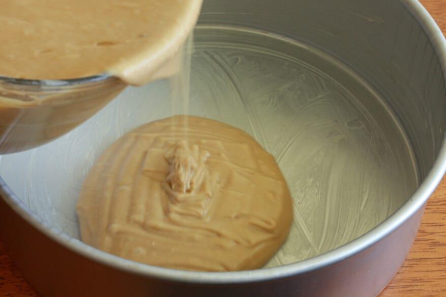 Peanut Butter Cake prep 6