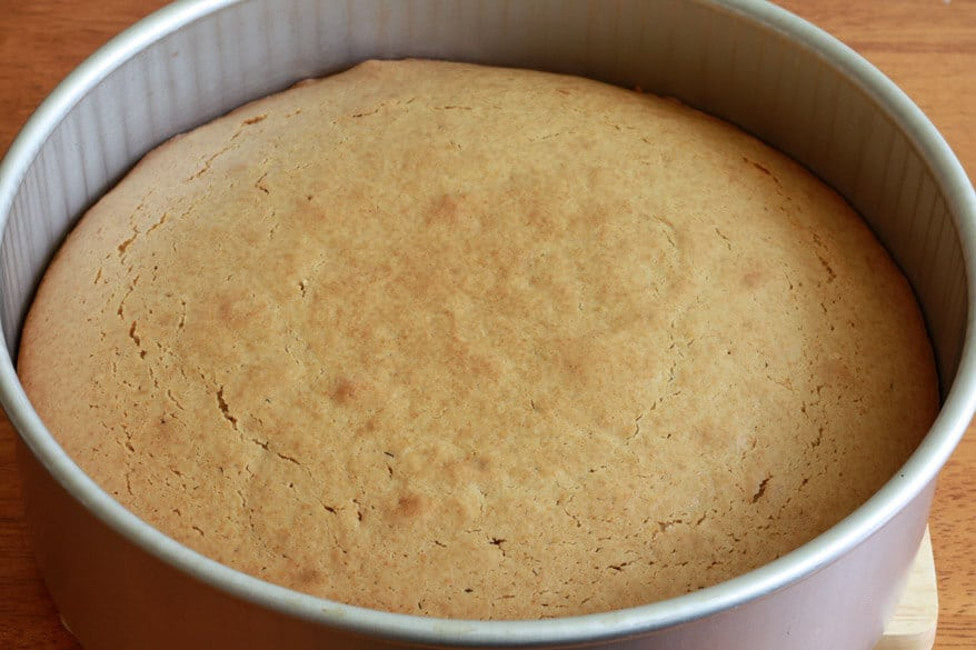 Peanut Butter Cake prep 8
