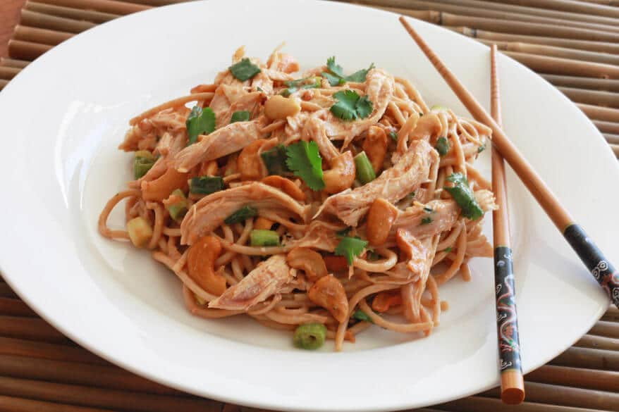 Sichuan Chicken Noodle Salad