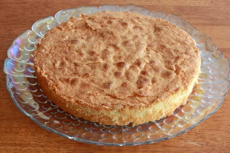 Almond Cake prep 17