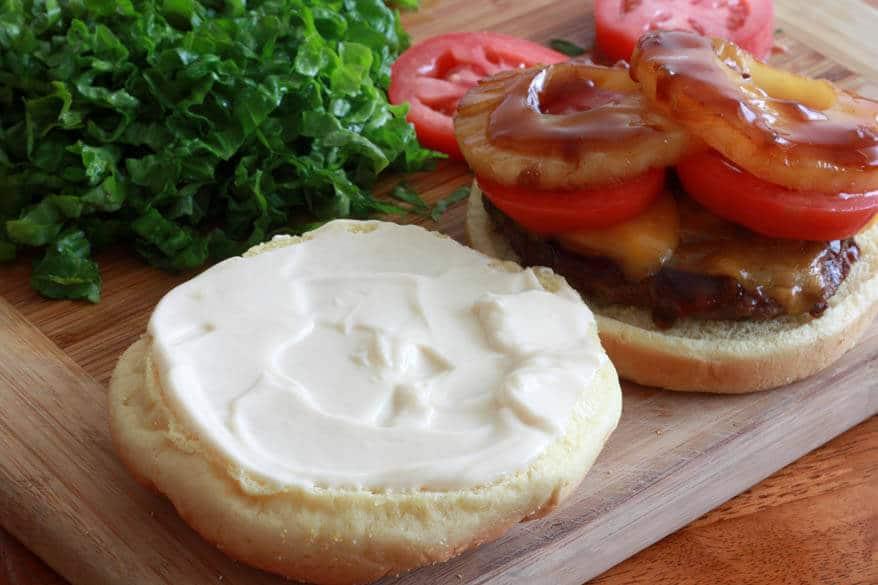Banzai Burger prep 8