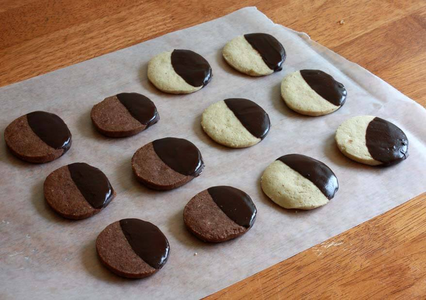Hazelnut Shortbread Cookies - The Daring Gourmet