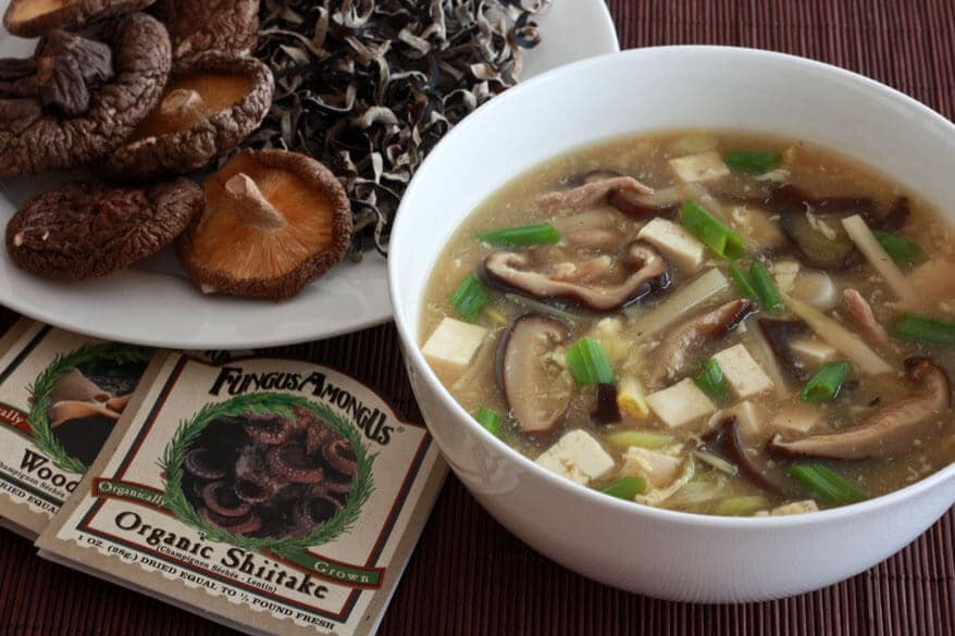 Restaurant Style Chinese Hot and Sour Soup - The Daring Gourmet