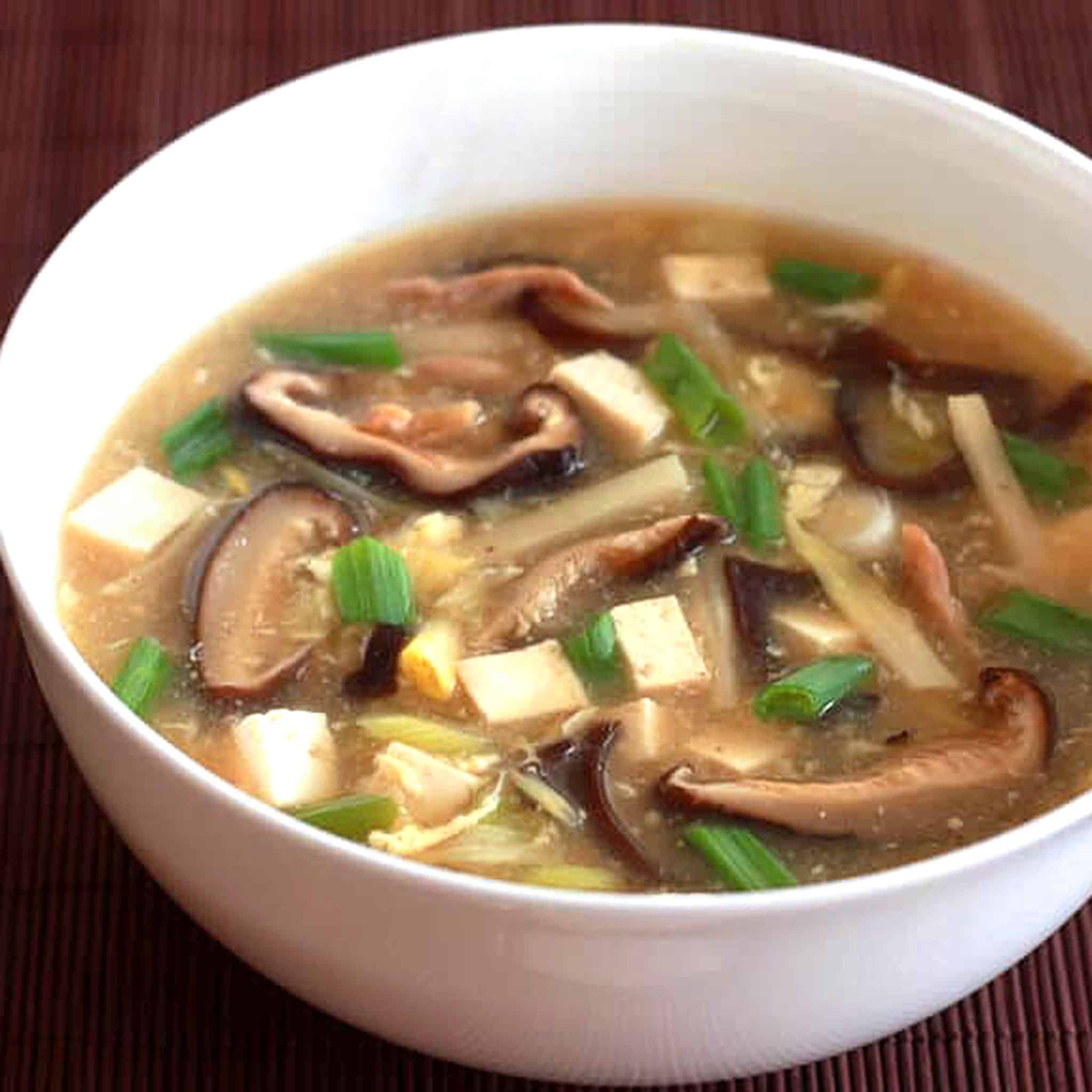 hot and sour soup recipe best authentic traditional Chinese restaurant style homemade