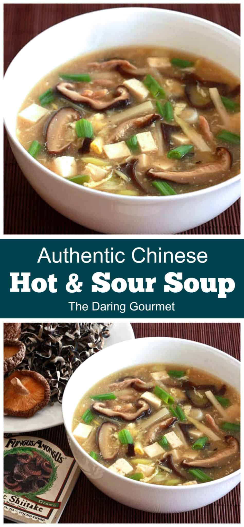 hot and sour soup recipe best authentic traditional Chinese homemade restaurant style