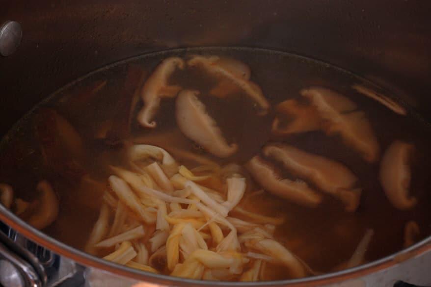 Hot Sour Soup prep 22