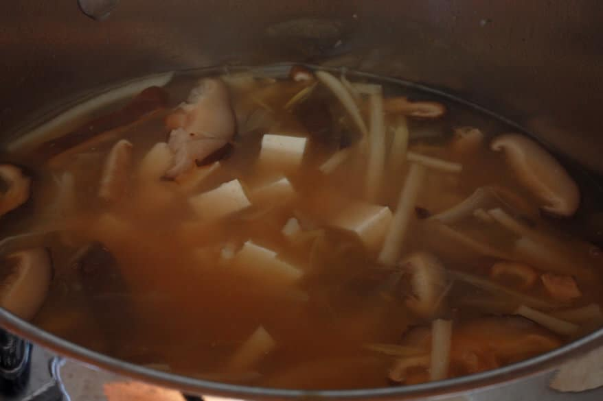 Hot Sour Soup prep 23