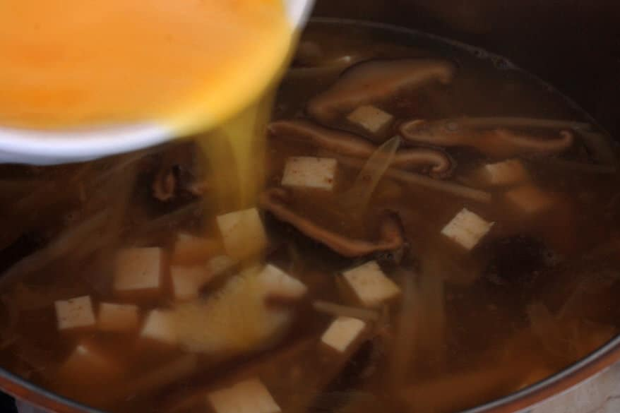 Hot Sour Soup prep 25