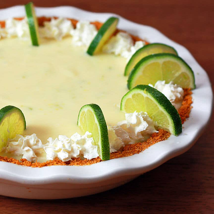Key Lime Pie - The Daring Gourmet