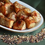 Panch Phoron Roasted Potatoes