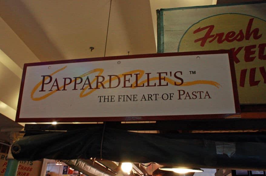 Pappardelles Pasta