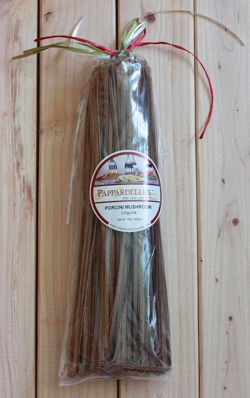 Porcini Mushroom Pasta package