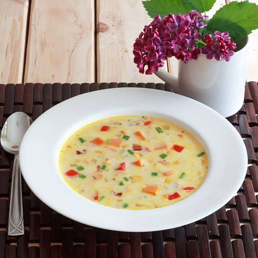 Sweet Potato Corn Chowder 1 sm