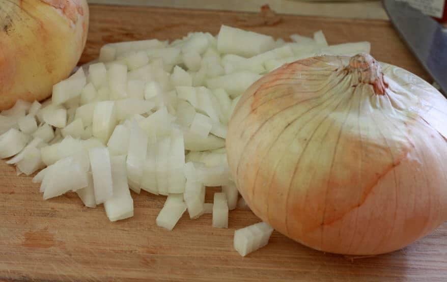 Sweet Potato Corn Chowder prep 2