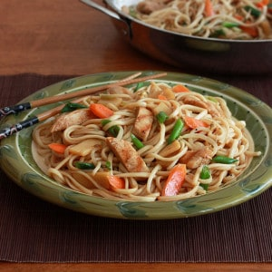 Chicken Teriyaki Noodles