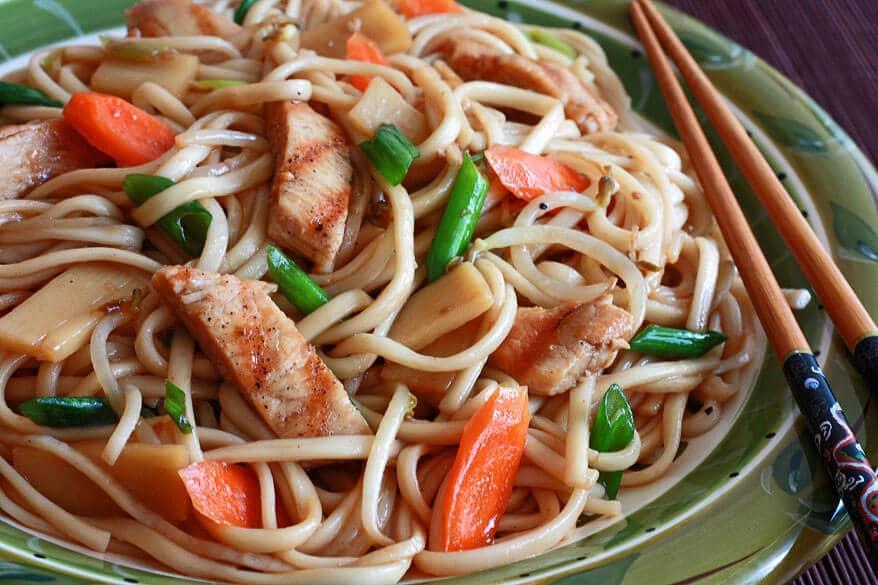 Teriyaki Noodles Recipe