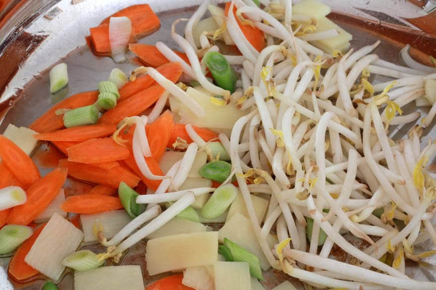 Teriyaki Noodles prep 3