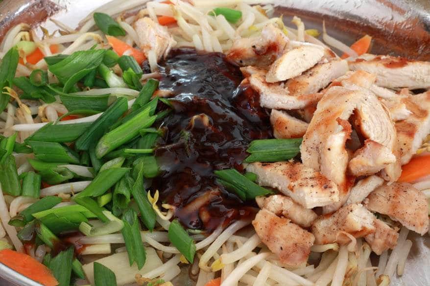 Teriyaki Noodles prep 4
