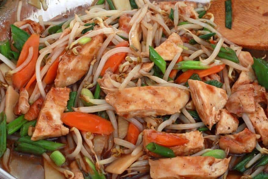 Teriyaki Noodles prep 5