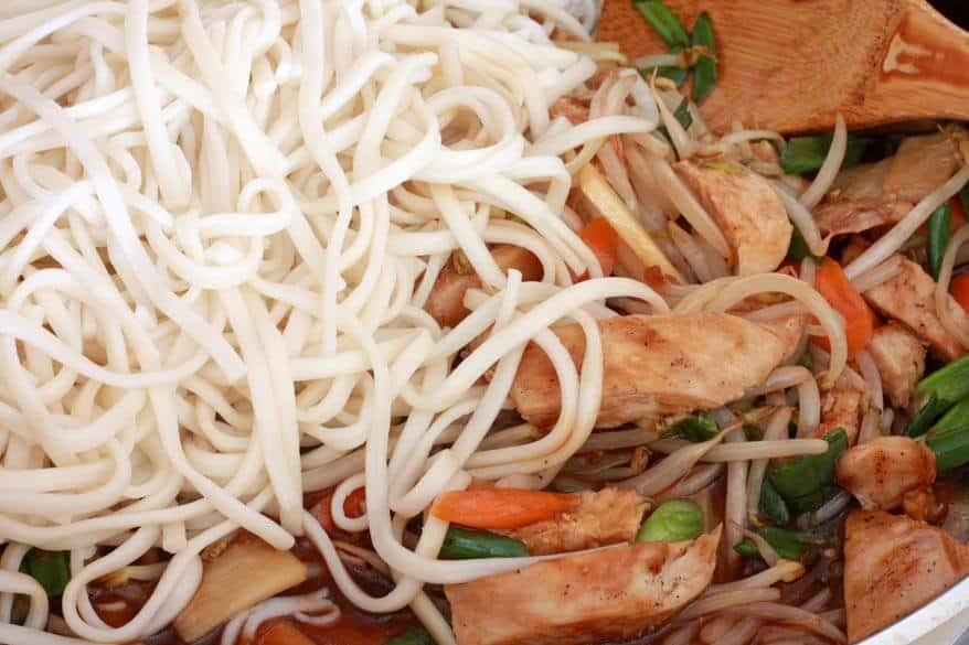 Teriyaki Noodles prep 6