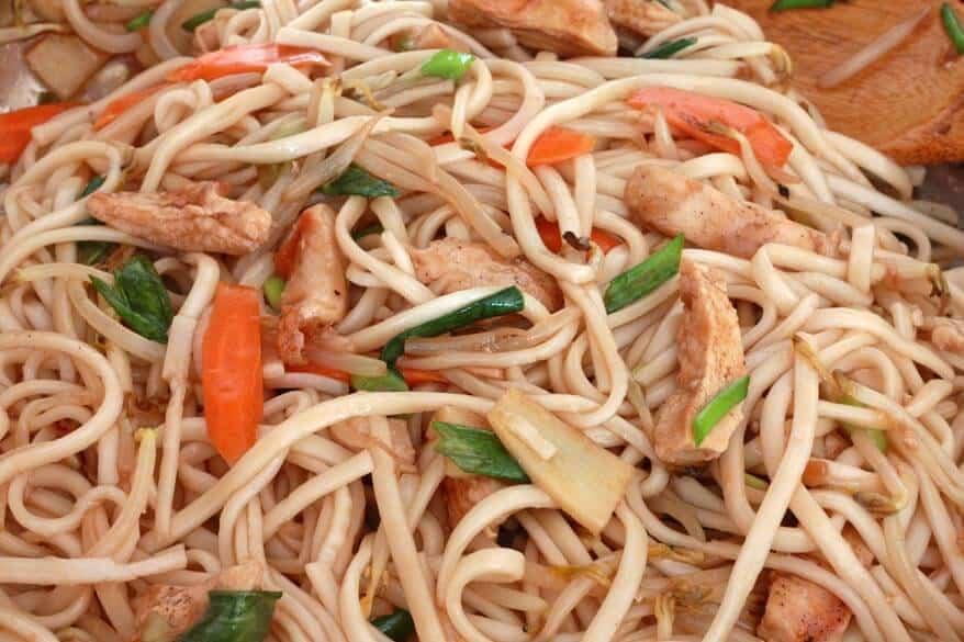 Teriyaki Noodles prep 7