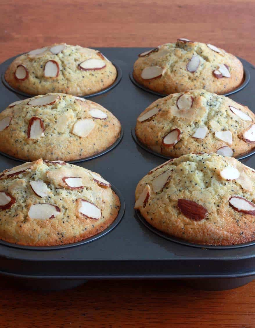 Almond Poppy Seed Muffins prep 7
