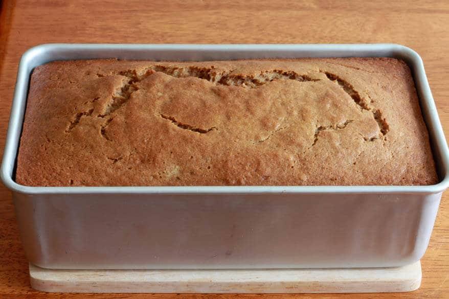 Banana Upside Down Bread prep 13