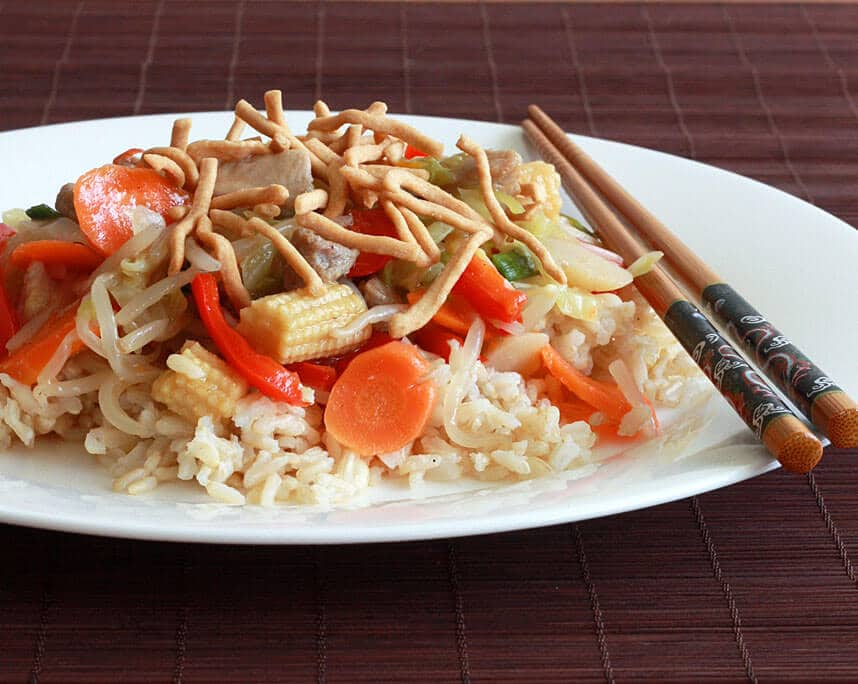 Chicken Pork Chow Mein Recipe