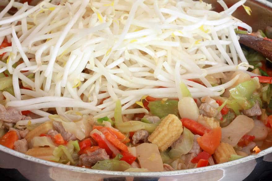 Chow Mein prep 11