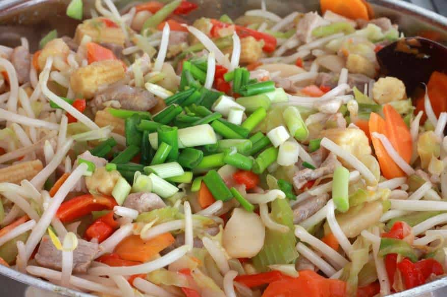 Chow Mein prep 12