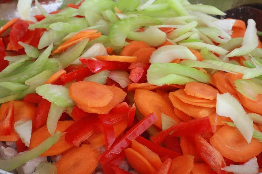 Chow Mein prep 7