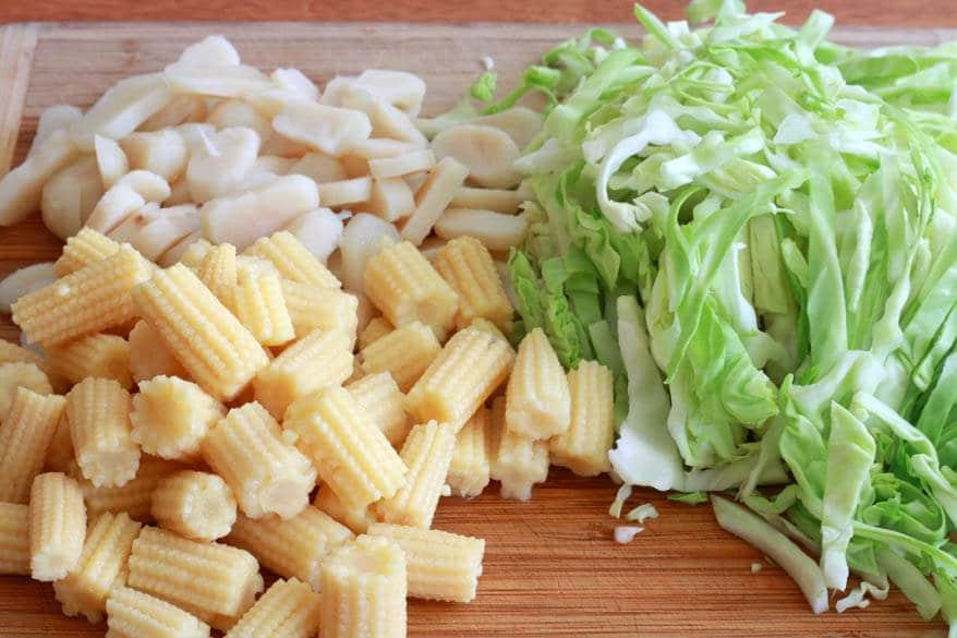 Chow Mein prep 8