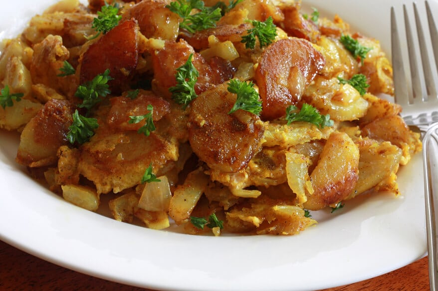 Curried Hash Browns Recipe