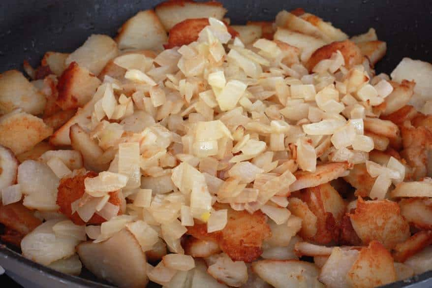 Curry Hash Browns prep 7