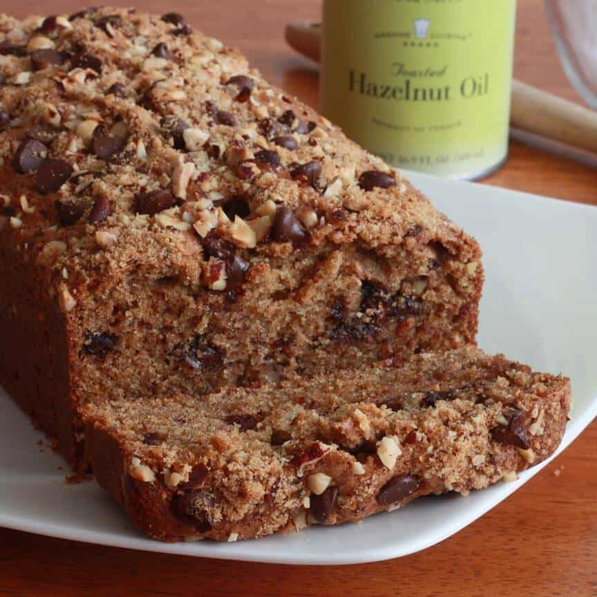 Orange Chocolate Hazelnut Bread - The Daring Gourmet