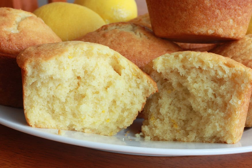 Lemon Muffins 4 sm