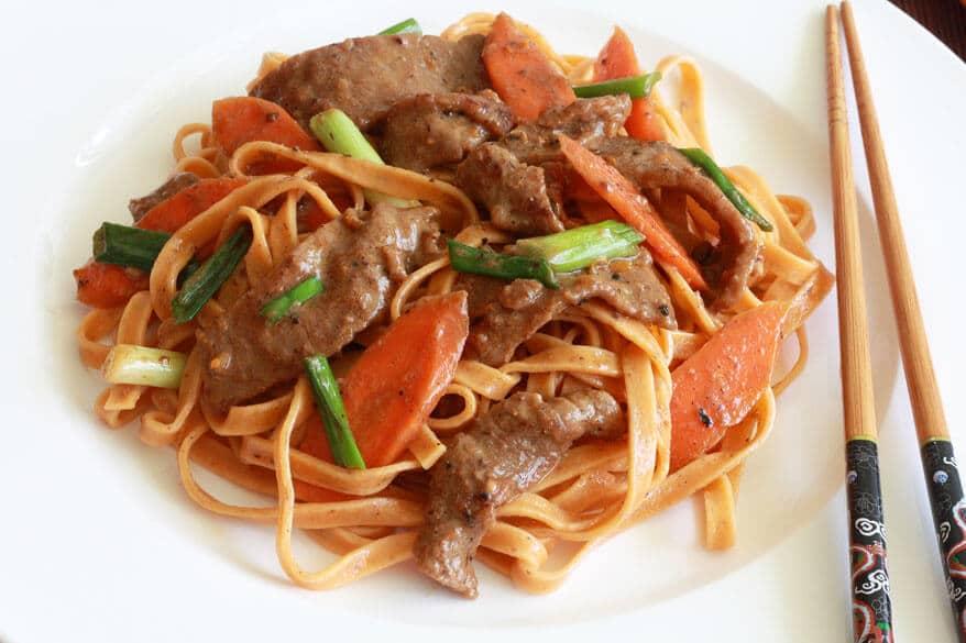 Sichuan Szechuan Orange Beef recipe
